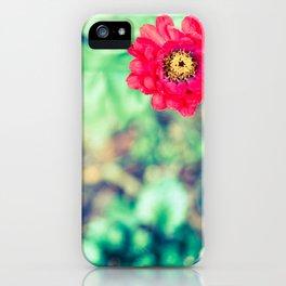 Ruby Petals iPhone Case