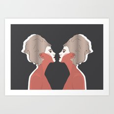 Think Twice - Double Art Print