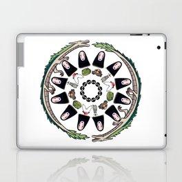 SPIRITED AWAY MANDALA Laptop & iPad Skin