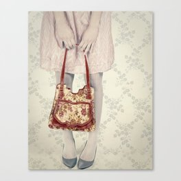 hello, darling.  Canvas Print