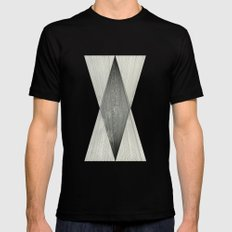 Intersect Mens Fitted Tee LARGE Black