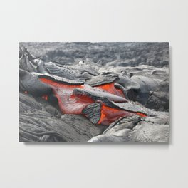 Lava Ooze Metal Print