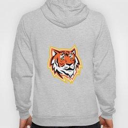 Bengal Tiger Head Mascot Hoody