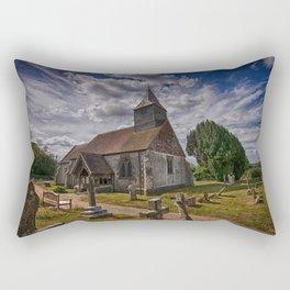 St Bartholomew Chalvington Rectangular Pillow