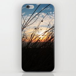 Sunset at the Lakes. iPhone Skin