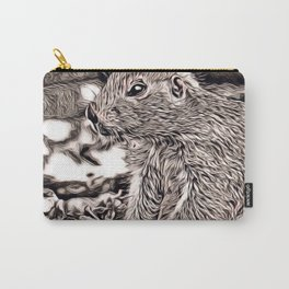 Rustic Style - prairie dog Carry-All Pouch