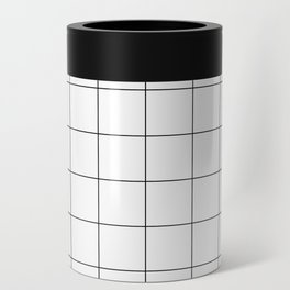 White Grid  /// www.pencilmeinstationery.com Can Cooler
