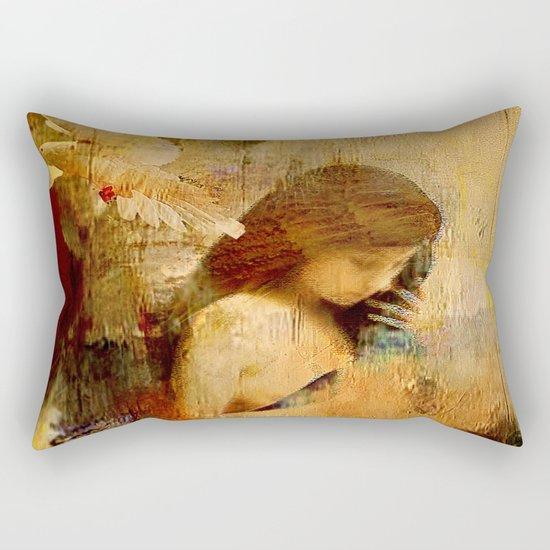 The message of Marie de Magdala Rectangular Pillow