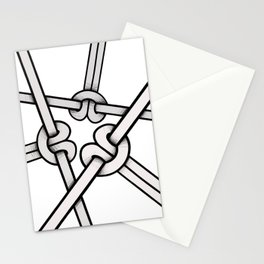 knots tied Stationery Cards