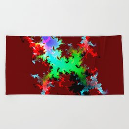 new mountain iii Beach Towel