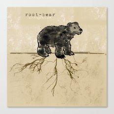 ROOT-BEAR Canvas Print
