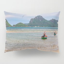 Three Boats Thailand Pillow Sham