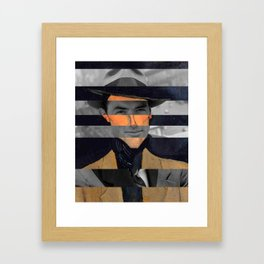 Modigliani's Portait of A Man with Hat & Gregory Peck Framed Art Print
