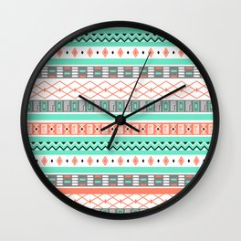 Aztec Wall Clock
