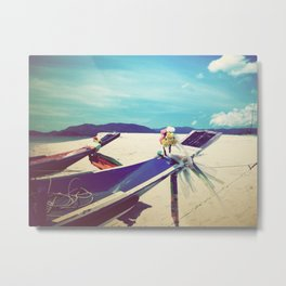 Longboat, Thailand II Metal Print