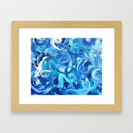 Acrylic Painting  Framed Art Print