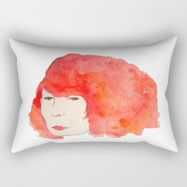Fire Head Rectangular Pillow