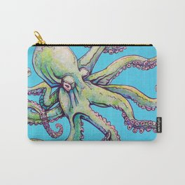 Angry octopus Carry-All Pouch