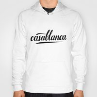 casablanca Hoodies featuring Casablanca by LeahArtOfficial