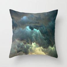 Seeing Thunder Throw Pillow