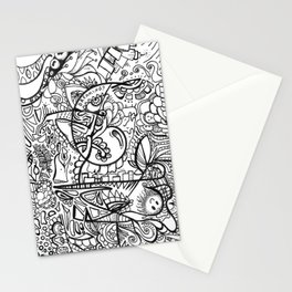 Dreaming? marker zendoodle Stationery Cards