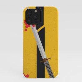 KILL BILL Tribute iPhone Case