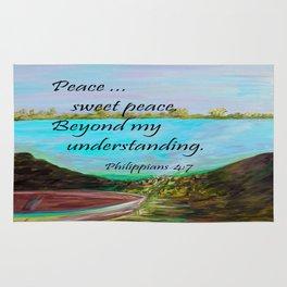 Peace Sweet Peace Rug