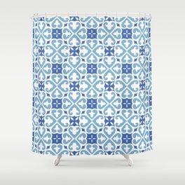 MEDITERRANEAN TILES Shower Curtain