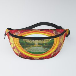 LIKE TO KEEP MY MEMORIES IN STYLE - RUSTIC BAROQUE - FRENCH CHATEAU Fanny Pack