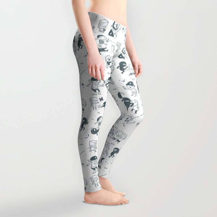 Pop Culture Clash Leggings