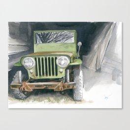 48 Survivor Canvas Print