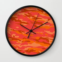 camuffare 4 Wall Clock
