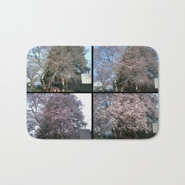 Tree Blossoms Bath Mat