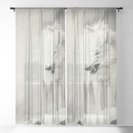 Storm Sheer Curtain