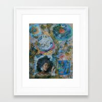 60s Framed Art Prints featuring 60s by Freebird Artistry