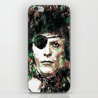 bowie iPhone & iPod Skins featuring BOWIE by Vonis