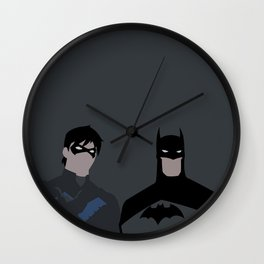 Young Justice Minimalism 1 Wall Clock