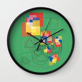 Kid in a Candy Store Wall Clock