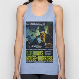 House of Horrors, vintage horror movie poster, Doctor Terror´s Unisex Tank Top