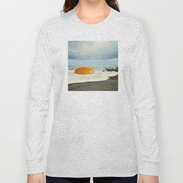 Beach Egg - Sunny side up Long Sleeve T-shirt