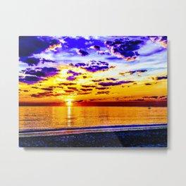 Acidic Sunrise - Gagliano Photography Metal Print