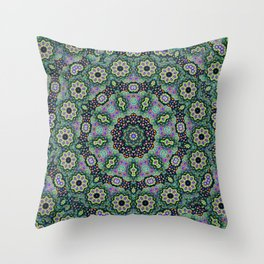 Nine Sided Paisley 2 Throw Pillow