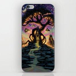 The Taurean Tree iPhone Skin