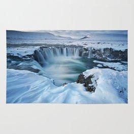 Falls Keflavik Iceland Rug