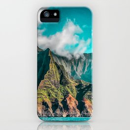 Na' Pali Coast, Kauai, Hawaii iPhone Case