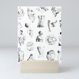 Nood Dood Pattern Mini Art Print