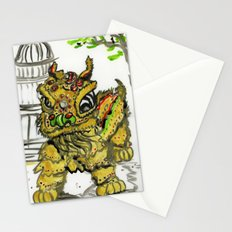 Lion Dance  Stationery Cards