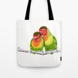 Love Birds - birds, nature, wildlife Tote Bag
