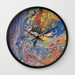 Fluid Art 5 Wall Clock