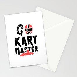 Go kart master / kart racing lover / go kart /gokart gift idea / go-kart present Stationery Cards